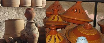 Les poteries de Salé