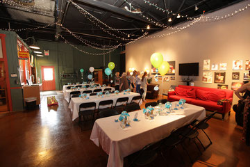 526 can host your bridal shower or baby shower in our unique venue