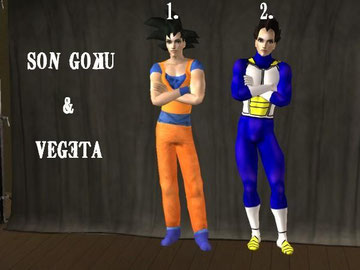 You will need Nightlive Expansionpack 4 Gokus pants to show up