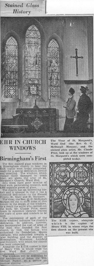 From the Birmingham Evening Mail 22 June 1953