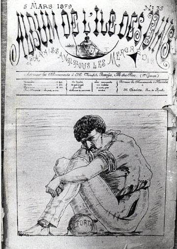 D37 - Le second Album de l'Iles des Pins : page de garde du numéro 35