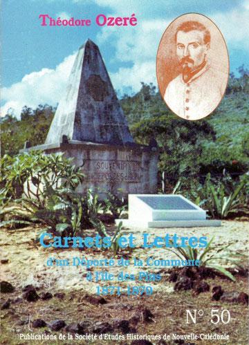 Publication N° 50 de la Société d'Etudes Historiques de Nouvelle-Calédonie (1993)
