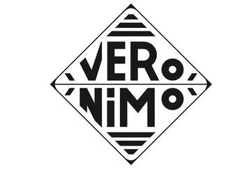 "Logo ""Véronimo"" Créatrice de bijoux en pâte polymère."