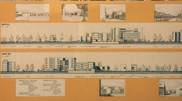 Projet de jardin  : 1990 - UP7 Paris Tolbiac