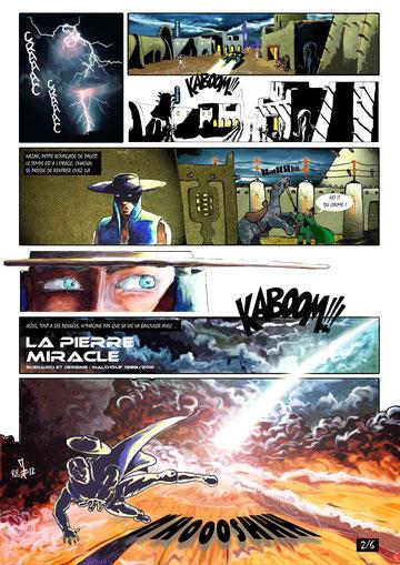 LA PIERRE MIRACLE page 2/6