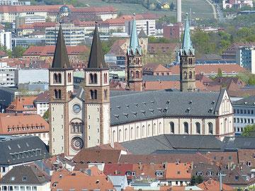 cathédrale Würzburg