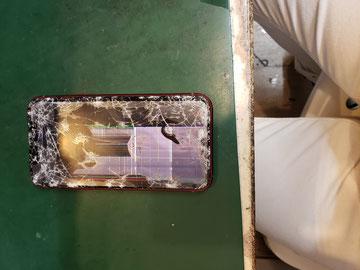 画面クラックiPhone11