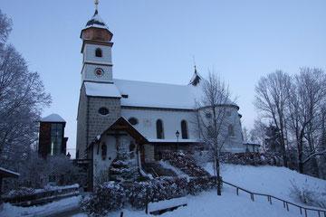 Wallfahrtskirche Maria Eck in 2km Entfernung