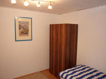 Das Einzelbetten-Schlafzimmer