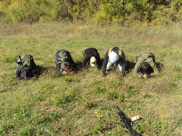 Talebani durante la preghiera