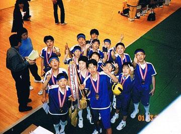 2001.3 全国大会 優勝