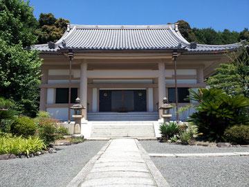 大阪 茨木 大念寺本堂