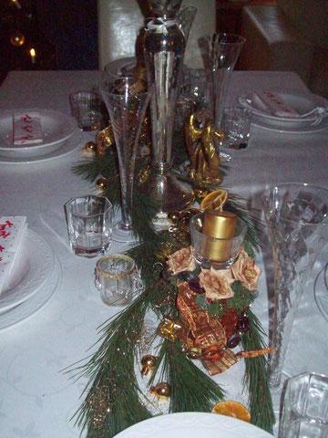 weihnachtl.Tischdekoration