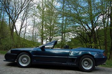 Renault Alpine V6 turbo cabriolet 1988