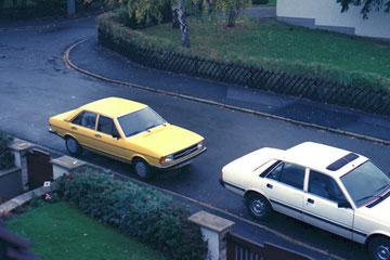 Audi 80 1977, hielt genau 10 Tage, dann verkauft.
