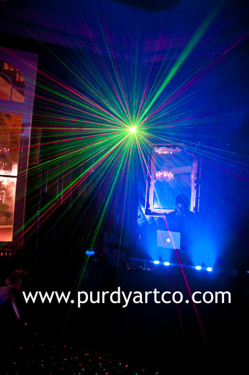 Live Mixing at an event on August 1st, 2010. Thank you Purdy Art Co. for the photo!