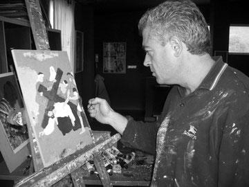 Andrés Nicolau. Pintor