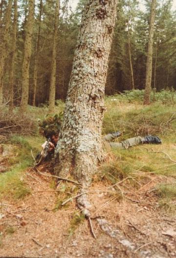 Ja im Wald da sind die Ardennenjäger