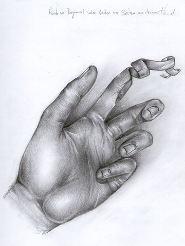 Hände wie Pergament