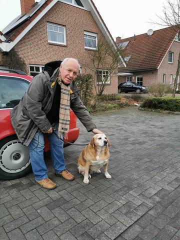 Merle (Merche) fand ein liebevolles Zuhause in Coesfeld.