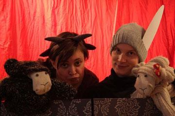 Ochs, Esel und zwei Schafe - aber wo ist Wenzel?