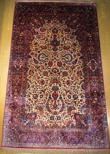 KASHAN silk 約210cmX130cm