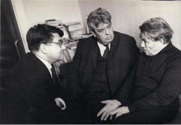А.Лугинин (слева), Н.Барсуков