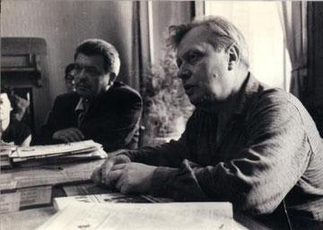 Н.Барсуков, С.Образцов. Конец 50-х годов