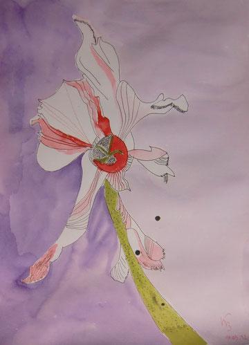 Brigittes Blüte nach Vorlage von S.Haun