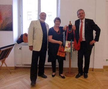 Künstlerpaar mit. Ing. Wimmer
