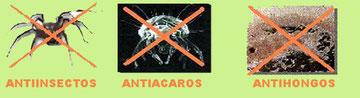 PINTURA ANTIACAROS Y ECOLOGICAS