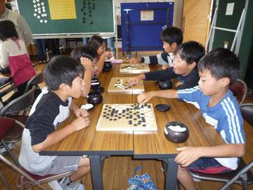 平成23年10月22日 前期囲碁教室