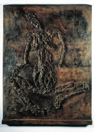 Relief 20-04-17, 1997, Bronze, 1/6 Exemplare, 138 x 105 cm