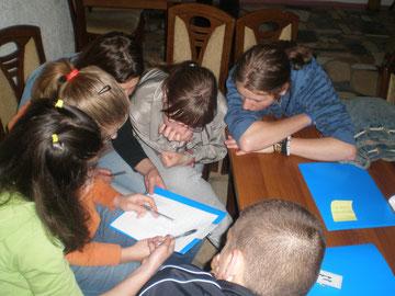 Vorbereitungsseminar in Srebenica