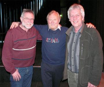 Peter und Jürgen trafen Sèan und James in Arnsberg wieder.  Grüße an Annette, Andreas und Heike.