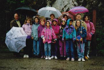 Kunstturnerinnen BTV Basel 1991 - Salzburg