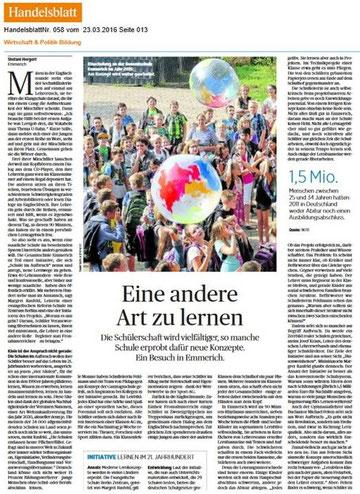 Handelsblatt 23.03.2016
