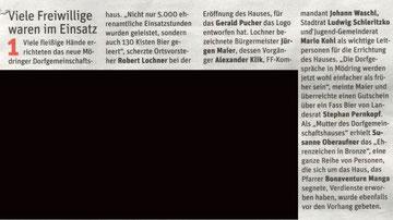 NÖN Horn/Eggenburg KW 38/12 (Treffpunkt)