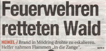 Titelblatt NÖN Horn/Eggenburg KW 11/2012