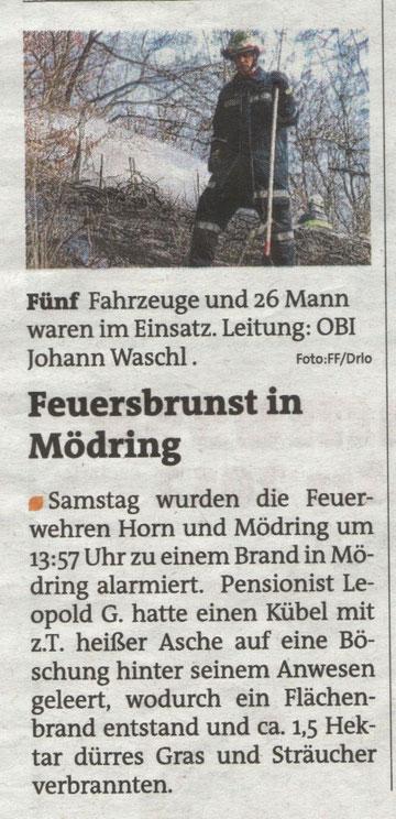 Bezirksblätter 14/15 März 2012