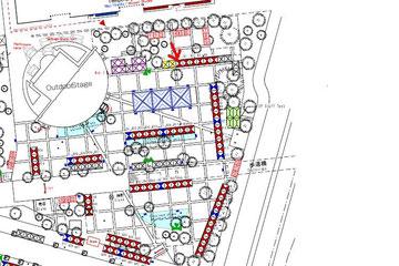 แผนผังแสดงตำแหน่งร้านTNJ (T3)