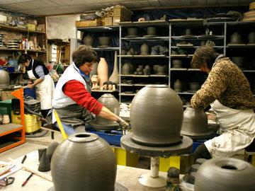 Tournage en céramique