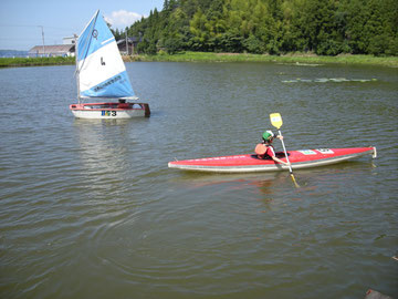 OPヨット・カヌー体験