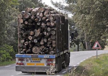 pour INOVA, 25 camions par jour toute l'année