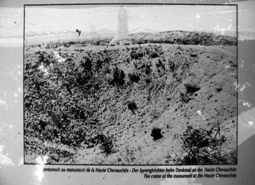 Der Krater in den 20-er Jahren des letzten Jahrhunderts