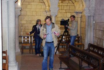 Kathedrale - Das Filmteam. Letzte Vorbereitungen zum Dreh