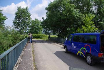 Tilly-sur-Meuse - Für uns der letzte Dreh an der Maas