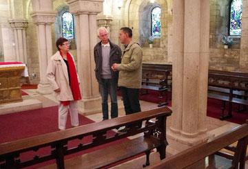 Kathedrale - ich im Gespräch mit Ingrid Ferrand und Karle Mönch