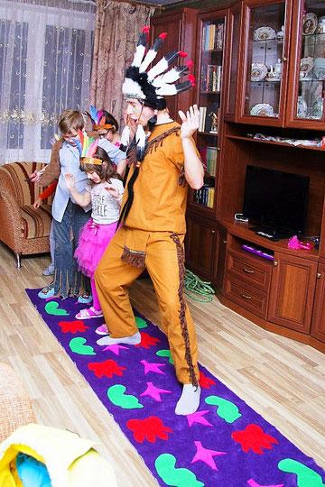 аниматоры индейцы на детский праздник день рождения ребенка москва на дом детский сад школу