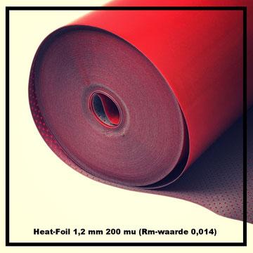 Heat-Foil - Zeer geschikt voor laminaatvloeren op vloerverwarming